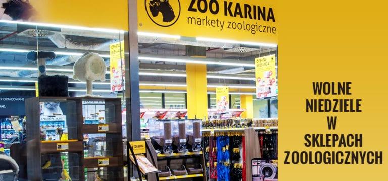Wolne niedziele w sklepach zoologicznych i ich wpływ na sprzedaż ?