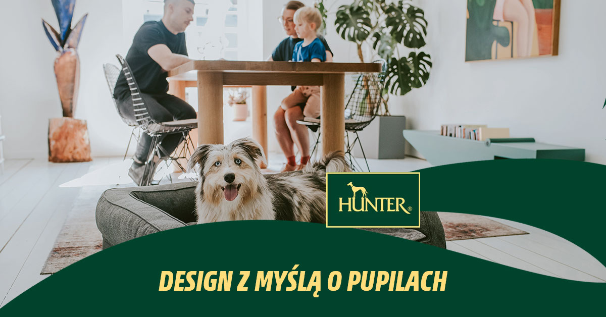 Hunter - design z myślą o pupilach