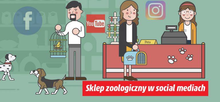 Sklep zoologiczny w social mediach