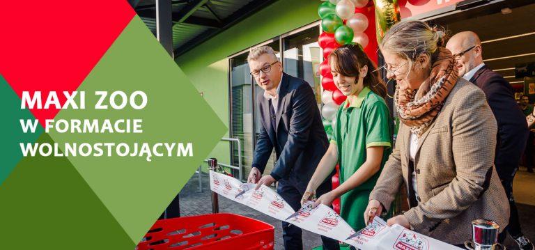 Maxi Zoo otwiera 40 sklep w Polsce i pierwszy w formacie wolnostojącym.