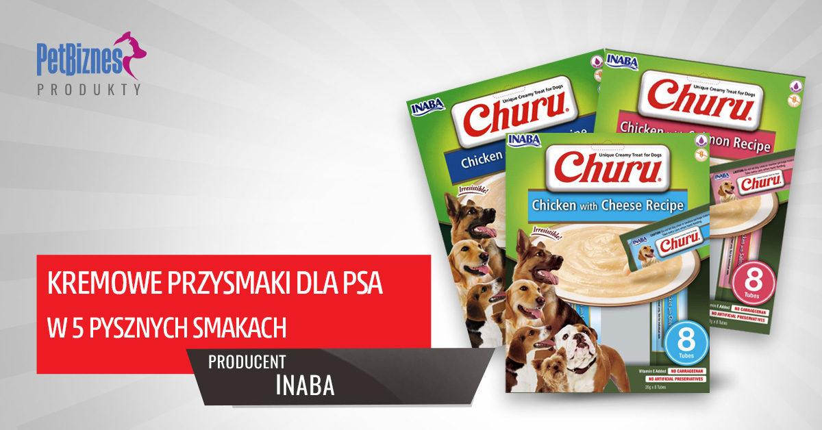 Churu - Japońskie Kremowe Przysmaki dla psa- dostępne w pięciu pysznych smakach!
