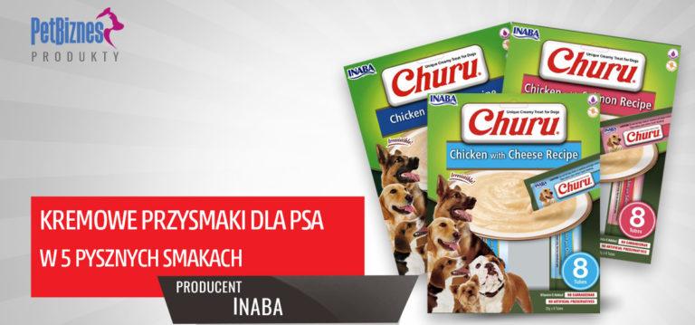 Churu – Japońskie Kremowe Przysmaki dla psa– dostępne w pięciu pysznych smakach!